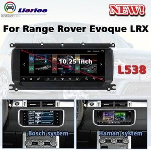 Автомобильный мультимедийный DVD-плеер для Land Rover Range Rover Evoque LRX L538 2012 ~ 2018, радио, Android, стерео, головное устройство, навигационная система