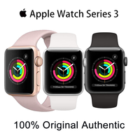 Original Apple Watch Series 3 Used  38MM/42MM GPS 90% New White and Black and Pink iWatch 3 Aluminum Case Sport Band Smart watch 1