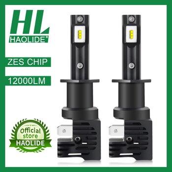 /HL LED ZES Chip Car Bulb 6000K White H4 Led H7 Mini H1 H8 H11 HB4 HB3 Refit Auto Headlight kit Turbo Super Bright Light 12V