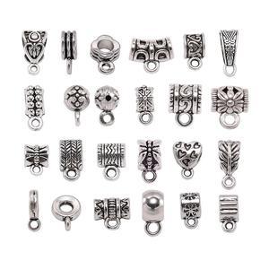 20pcs/lot Silver Pendant Clasp