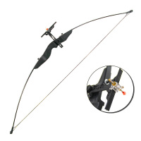 Powerful Recurve Bow 30 40 Lbs Recurve Bow with Straight Pull Bow 55 Inches Archery Bow Accessories for Hunting Shooting