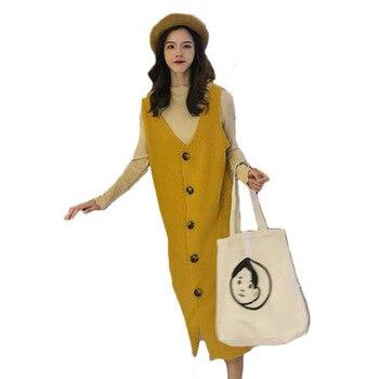 Fashion Maternity Sets 2019Spring Autumn Pregnancy Clothes Lace Top+loose Strap Dress 2Pcs for Pregnant Women