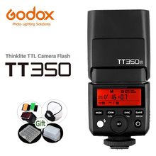 Godox Mini Speedlite TT350C TT350N TT350S TT350O TT350F TT350P TTL 2.4G HSS Flash TT350 for Canon Nikon Sony Fuji Pentax Camera
