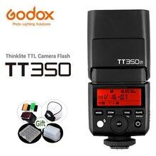 Godox מיני Speedlite TT350C TT350N TT350S TT350O TT350F TT350P TTL 2.4G HSS פלאש TT350 עבור Canon Nikon Sony Fuji pentax מצלמה