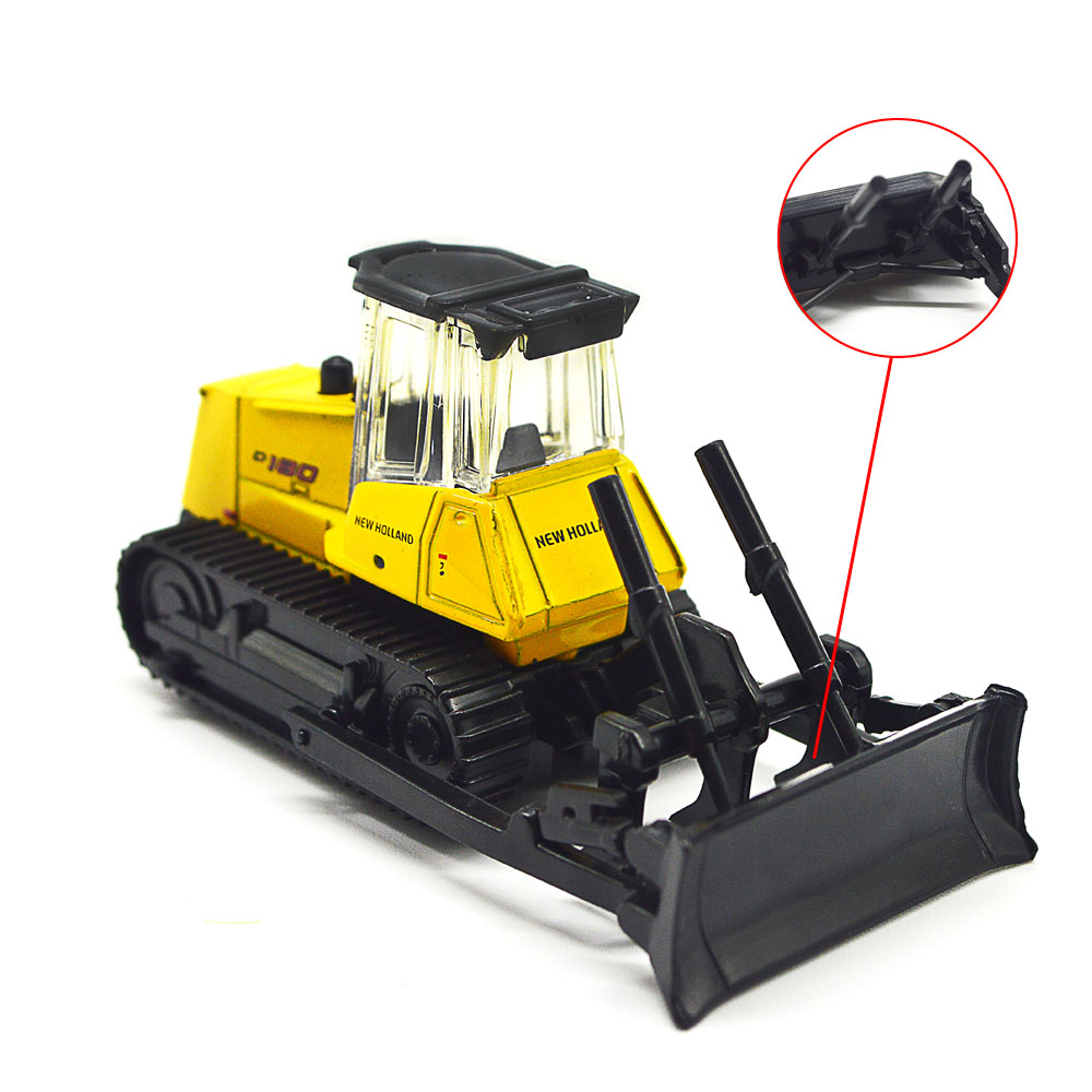 HO model bulldozer toys 1 87 miniature tools transportation cars for model sandtable construction scecne making layout kits in Model Building Kits from Toys Hobbies