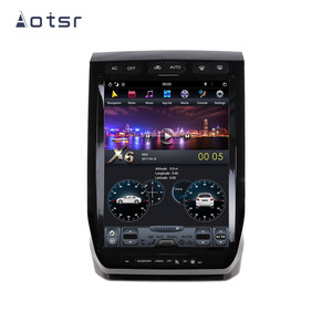AOTSR Tesla Style Android 9.0 PX6 4G 64GB Car Player For Ford Raptor F150 2015 - 2019 Car GPS Navigation CarPlay DSP Autostereo(China)