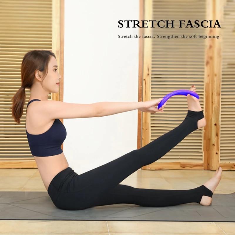 2020 Yoga Circle Yoga Stretchdline Ring Home Women Fitness Equipment Fascia  Massage Workout Pilates Bodybuilding Exercise Yoga Circles  - AliExpress