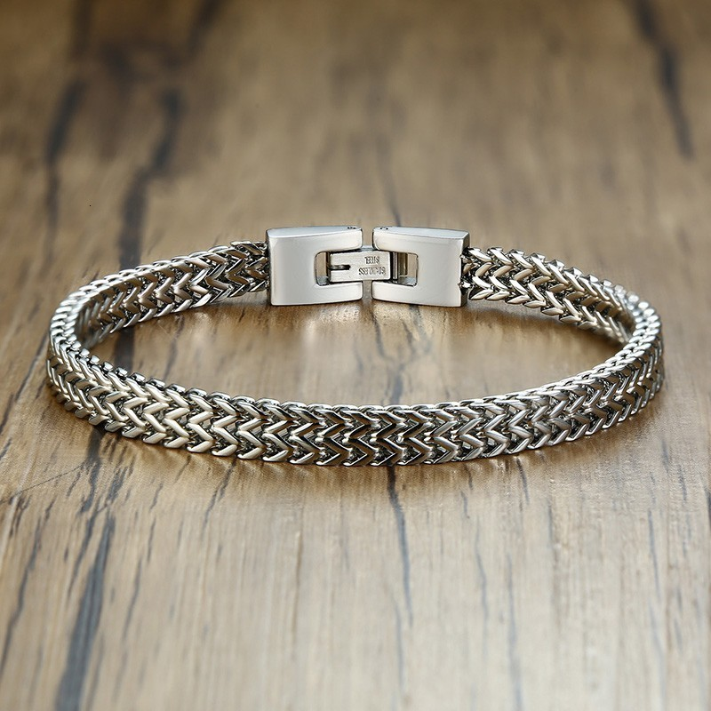 free ship Stainless Steel 3.2mm 8.26/'/' Round snake chain Bracelet Nice Gifts