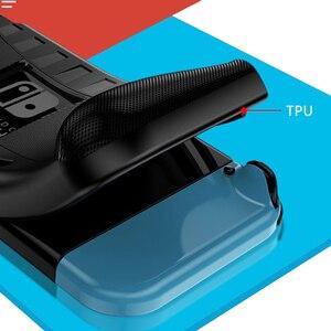Image 4 - Coque en Silicone pour Nintendo Switch coque de Protection anti choc poignée ergonomique pour Nintendo Switch NS accessoires