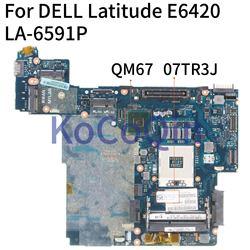 Kocoqin Laptop Moederbord Voor Dell Latitude E6420 Moederbord CN-0R8MM9 0R8MM9 PAL50 LA-659BP QM67