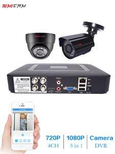 System Cameras Cctv-Kit Video-Surveillance-Set 2MP 720P/1080P 4CH 2pcs AHD 1080n-5in1-Dvr-Kit