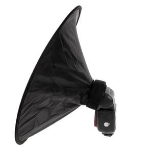 Image 3 - 2021 New Universal 42cm Round Flash Softbox Speedlite Diffuser Reflector Strap New