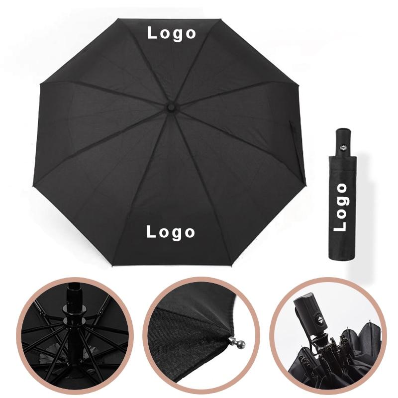 Waterproof Full Automatic Umbrella Car 3 Folding Umbrellas For mercedes Benz W203 W205 W212 GLE GLC C200 E A B S Class Supplies