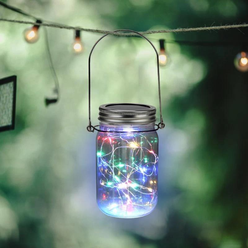 Vktech Outdoor Led Botol Plastik String Lampu Xmas Taman Gantung Lampu Hias Berwarna Warni Untuk Pesta Pernikahan Hadiah String Pencahayaan Aliexpress