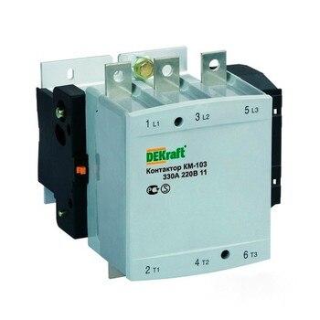 DEKraft Contactor 400A AC220V AC3 1NO + 1NC КМ-103 22162DEK