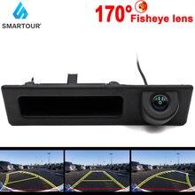 Smartour HD 1080P CCD Fisheye Lens Car Reverse Backup Trunk Handle Camera For BMW 3 Series 5 X3 Series F10 F11 F25 F30 F35