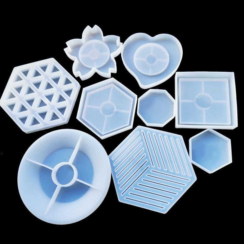 Купить 1 шт коврик для чашки прозрачная силиконовая комбинированная