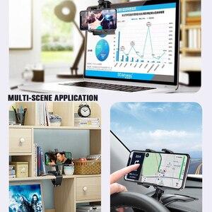 Image 5 - Yeni çok fonksiyonlu araba telefon tutucu evrensel rotasyon yaratıcılık evrensel araç içi telefon tutucu ile bir gizli dur işareti araba aksesuarları