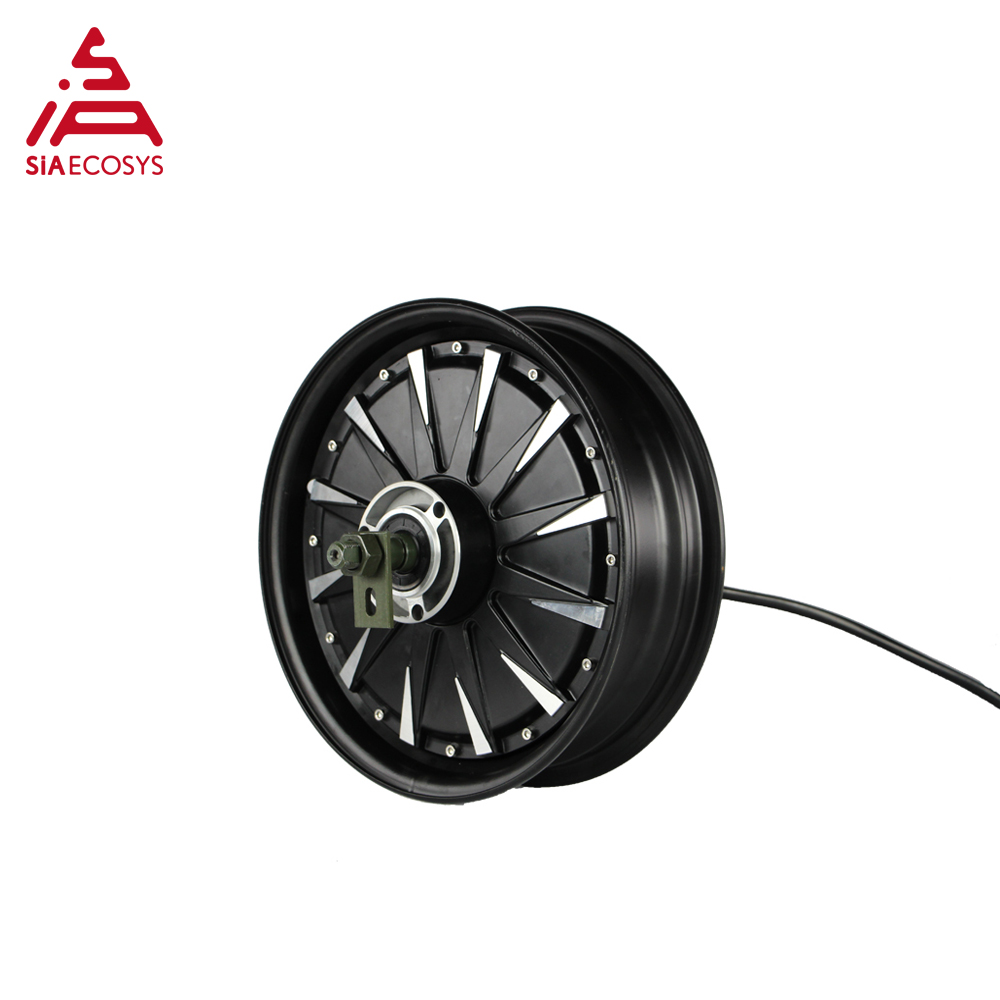 QS Motor 12inch 1500W 260 V1.12 55kph low power BLDC motor brushless and gearless in wheel hub motor for ectric scooter