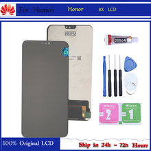 Original para huawei honor 8x JSN-AL00 JSN-L22 JSN-L21 display lcd completo + tela de toque digitador assembléia substituição display