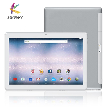 KIVBWY Tablet Pc 10.1 inch Android 8.0 2+32GB Tablets Octa Core Google Play 4G LTE Phone Call Bluetooth Tempered Glass 10 inch octa core 10 inch card tablet pc 4g lte call phone mobile 4g the android tablet pc 32 64gb ips 1920 1200 10 10 1