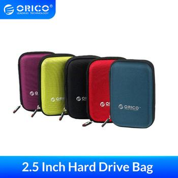ORICO 2.5 Inch HDD Box Bag Case Portable Hard Drive Bag for External Portable HDD hdd box case storage Protection Black/Red/Blue