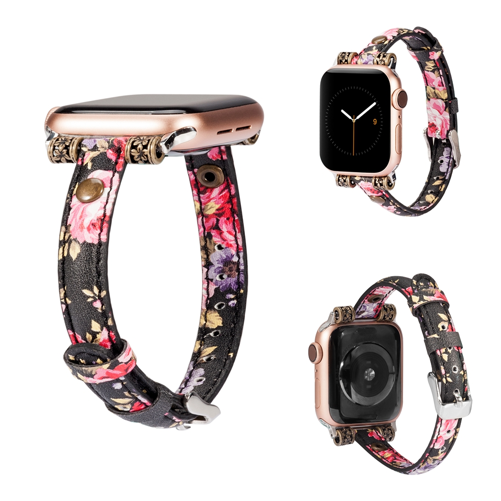 Slim Genuine Leather Strap For Apple Watch 4 5 44mm 40mm Women iwatch Band 42mm 38mm Wristband Strap for iWatch Series 4 3 2 1