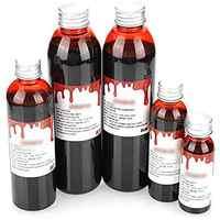 Sicher Realistische Horror Cosplay Prop Blut Party 30 ml, 60 ml Halloween Make-Up Gefälschte Blut Als Bild 2 Typ Halloween werkzeug