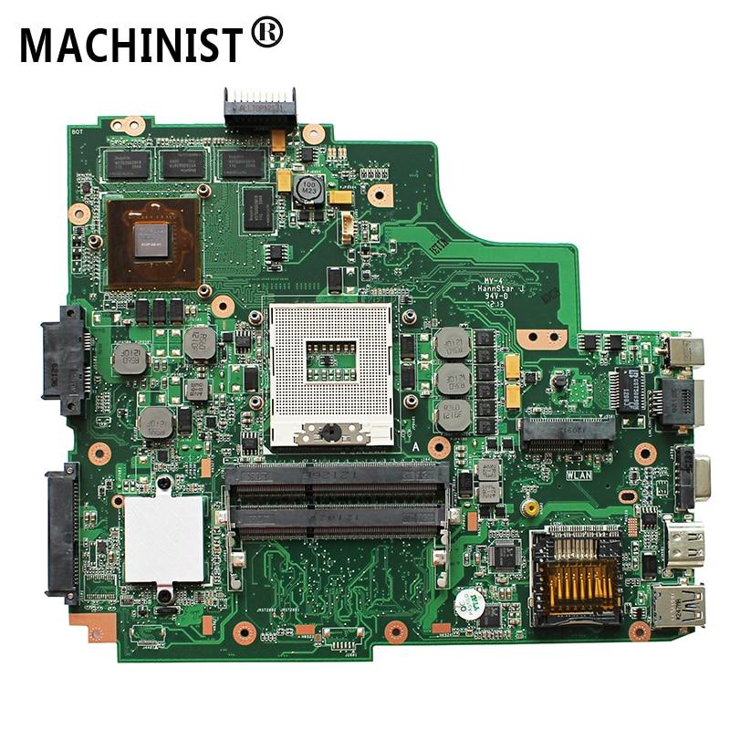 Original For ASUS K43SV K43S A43S P43S X43S K43SJ A84S K43SM P43SJ A83S laptop motherboard MB GT540M 1G REV:4.1 HM65 DDR3