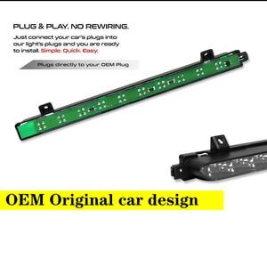 Image 3 - IJDM 黒クロームレンズ赤色 Led 3rd ブレーキランプのための 2007 2014 ミニクーパー R56 R57 R58 R60 、 OEM フィットハイマウント 12V