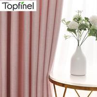Cortinas opacas modernas para sala de estar, dormitorio, tratamiento de ventanas, opacas, opacas, persianas acabadas