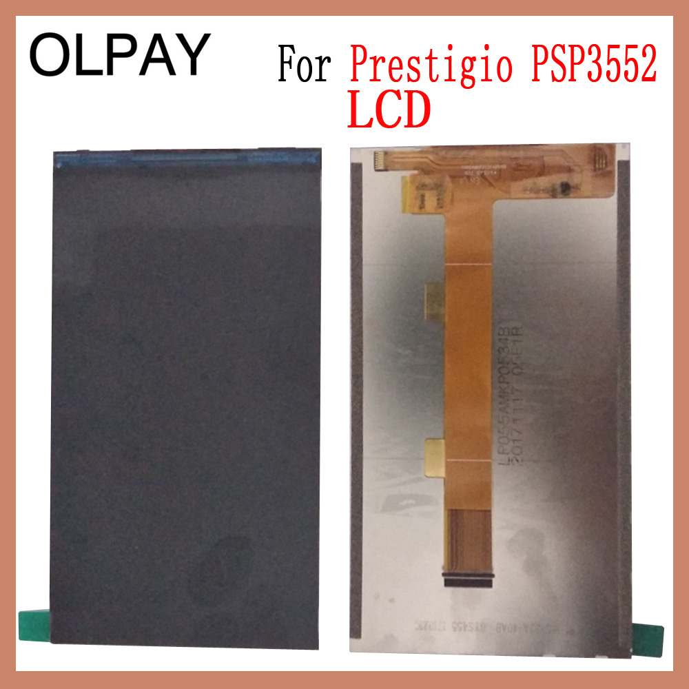 OLPAY 100% Tested For Prestigio Muze H3 <font><b>PSP3552</b></font> <font><b>DUO</b></font> LCD Touch Screen Display Free Adhesive+Wipes image