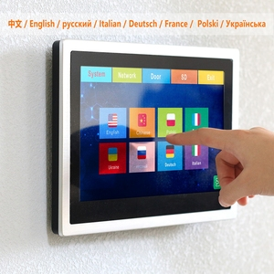 Image 3 - HomeFong WIFI Intercom System Wireless Video Door Phone for Apartment  10 inch Touch Screen 1080P WiFi Doorbell Motion Detection