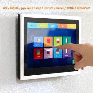 Image 2 - HomeFong Wireless Video Intercom IP Video Door Phone Wifi 10 inch Touch Screen Monitor HD 1080P Doorbell Home Intercom for Villa