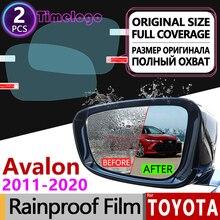For Toyota Avalon 2011 - 2020 xx30 xx40 xx50 30 40 50 Anti Fog Film Cover Rearview Mirror Rainproof Anti-Fog Films Accessories