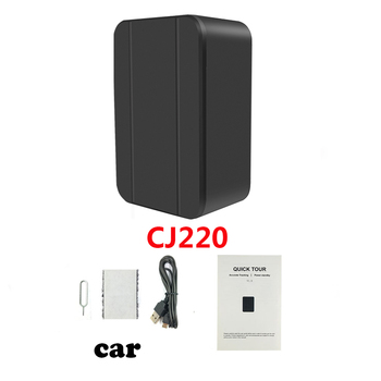 Mini GPS Tracker for Car Kids Personal Pet Valuable objects Voice Monitor Locator Tracking Device 1200mA free System APP 4
