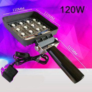 Image 4 - vusum 120W 160W wavelength 365nm 395nm 405nm handheld portable UV LED curing light mobile phone screen repair lamp ink curing