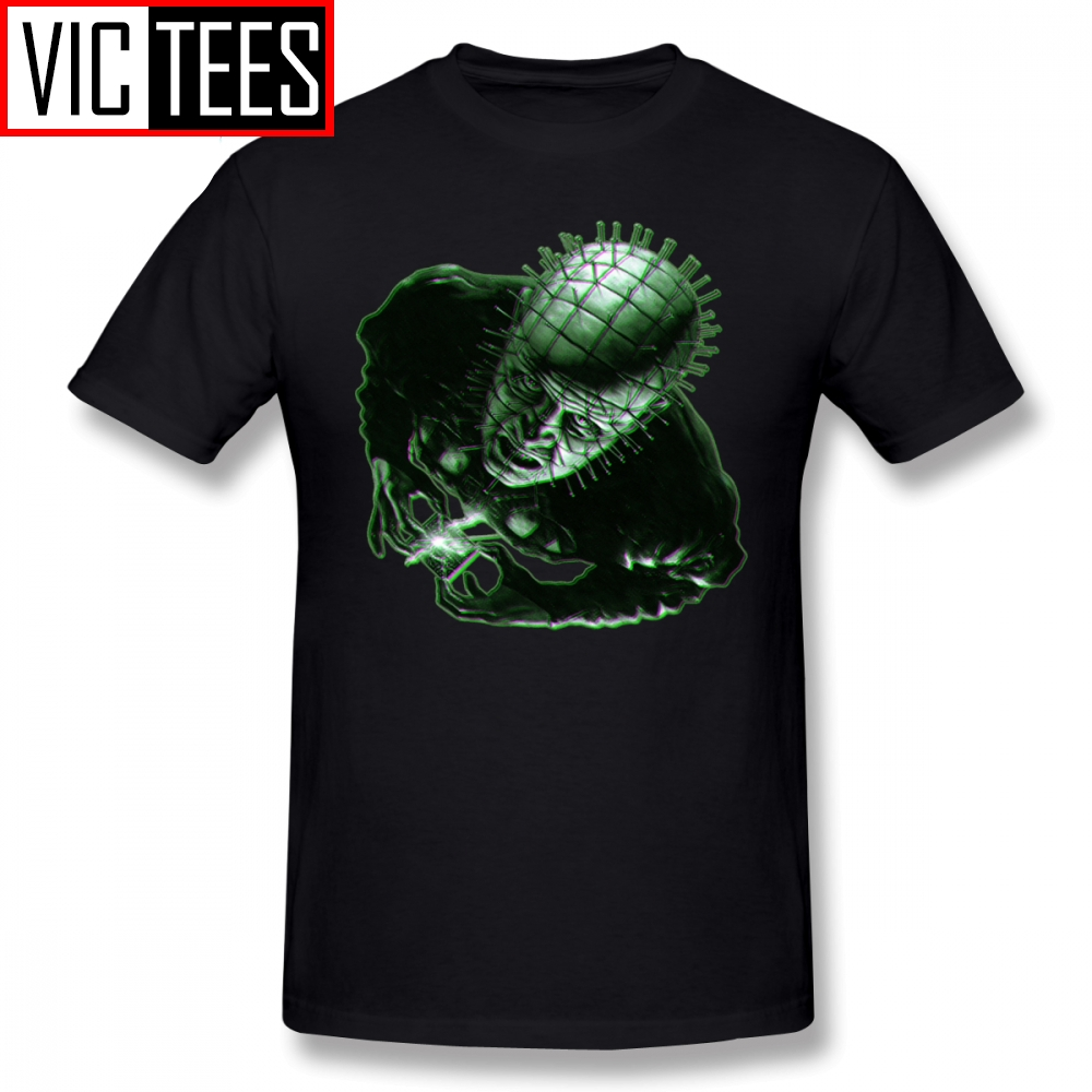 Mens Hellraiser T Shirts Eternal Torment T-Shirt Plus Size  Tee Shirt Print Male Fashion Awesome 100% Cotton Tshirt