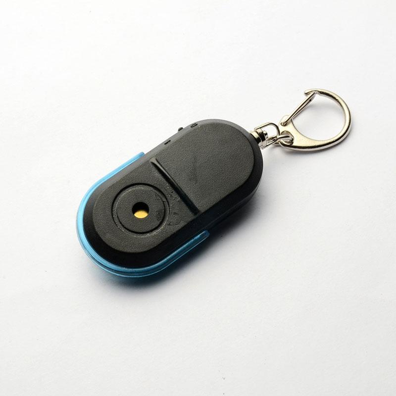 Whistle Sound LED Light Anti-Lost Alarm Key Finder Locator Keychain Device VH99