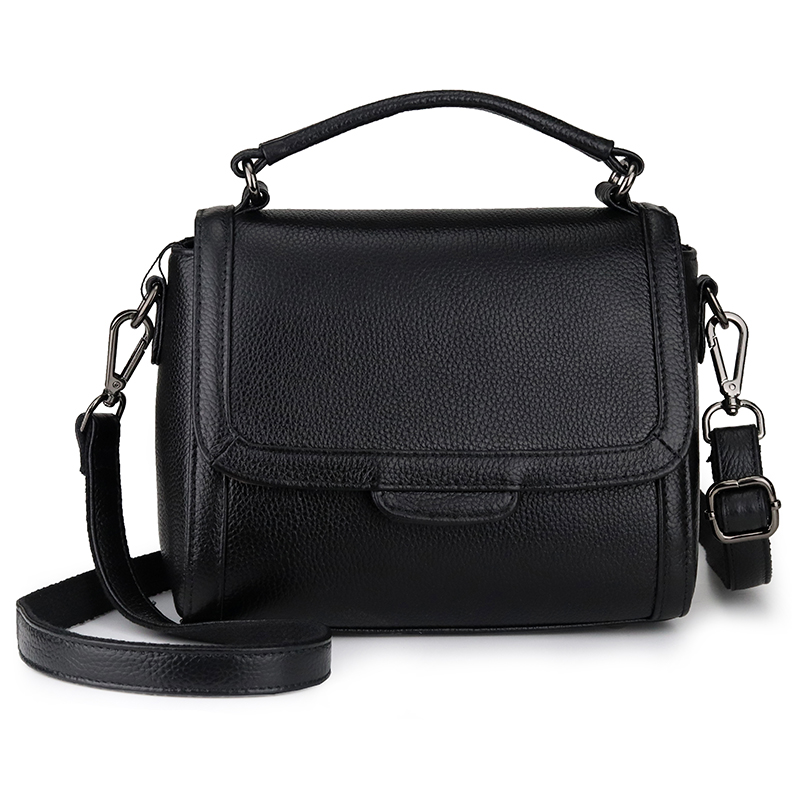 Female Messenger Handbag Genuine Leather 2019 New Style Fashion Shoulder Bags Small Flap Crossbody Bag For Women Messenger