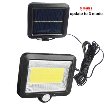 Led lawn Garden Solar Lamp Outdoor 100 LEDs Solar light Motion street Wall+lamps yard garage indoor home spot- lights Chandelier 6