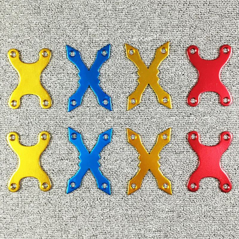 2 Pcs Protective Gaskets Longboard Edge Aluminum Alloy Screw Pads Deck Sinking Pads Hole Skateboard Hardware Accessories