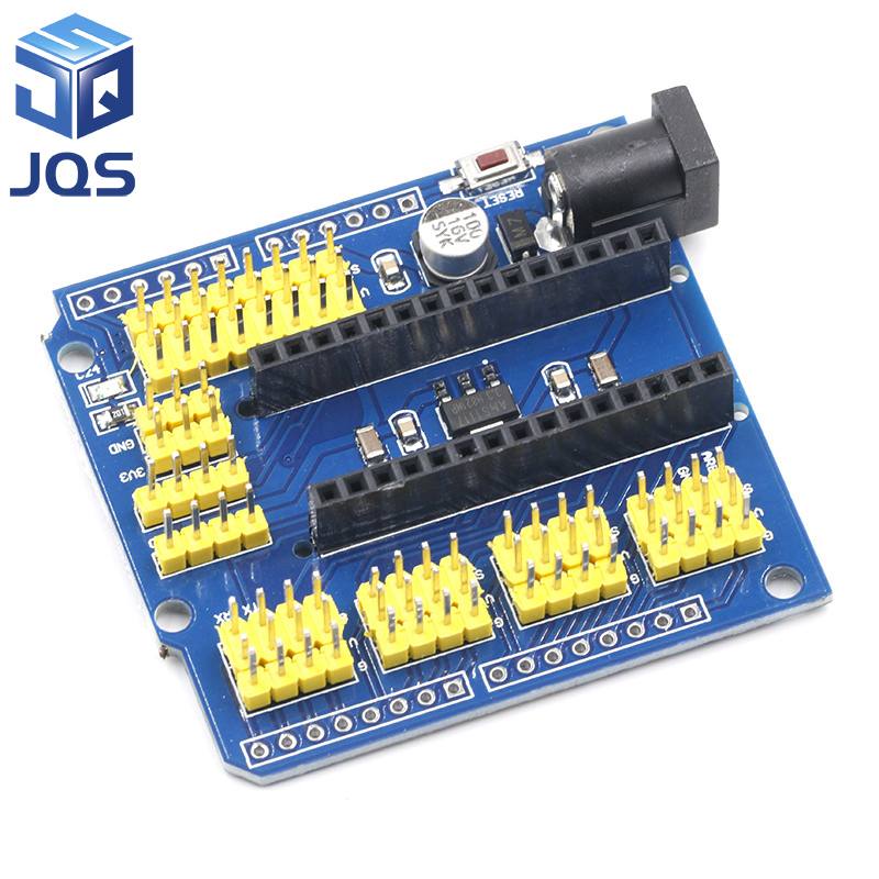 NANO I/O IO Expansion Sensor Shield Module For Arduino UNO R3 Nano V3.0 3.0 Controller Compatible Board I2C PWM Interface 3.3V