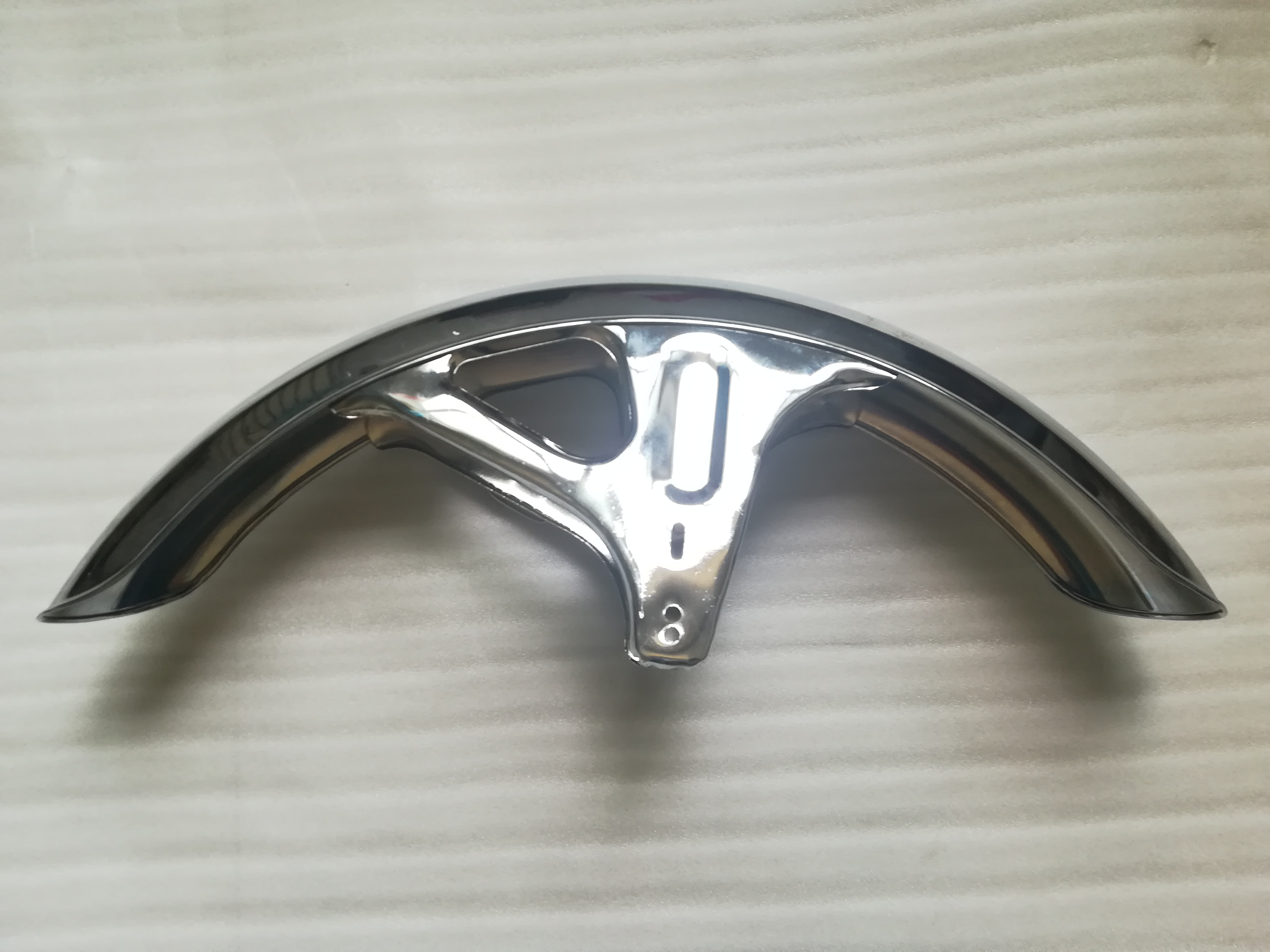 Free Shipping Motorcycle 8 Degree Electroplated Front Fender Front Mudguard For Suzuki AX100 1pc