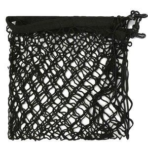 Image 5 - Universal Cargo Net für Auto Stamm 70x70cm Stamm Gepäck Lagerung Transport Organizer Nylon Dehnbare Elastische Mesh Net mit 4 Haken