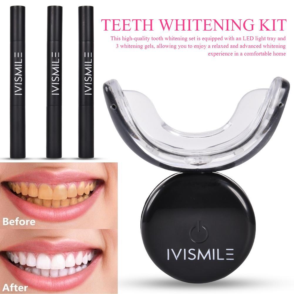 Smart Teeth Whitening System Teeth Whitening Kit Blue Led Light