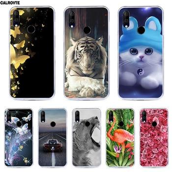 Перейти на Алиэкспресс и купить CALROVTE чехол для BQ 6040L Wolf Silicon TPU чехол для BQ-6040L Magic Cat Animal Shell сумка корпус чехол для телефона для BQ 6040 L