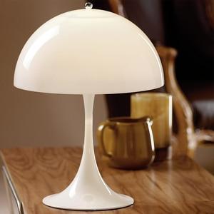 Скандинавские светодиодные настольные лампы, современный акриловый абажур, настольные лампы для гостиной, спальни, кабинета, стола, деко, д...
