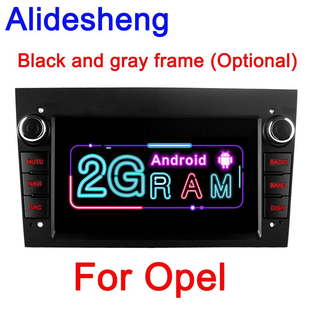 2G RAM Android 8.1 Car Multimedia Player 2 Din for opel Vauxhall Astra H G J Vectra Antara Zafira Corsa Vivaro Meriva  GPS Radio|Car Multimedia Player|   - AliExpress