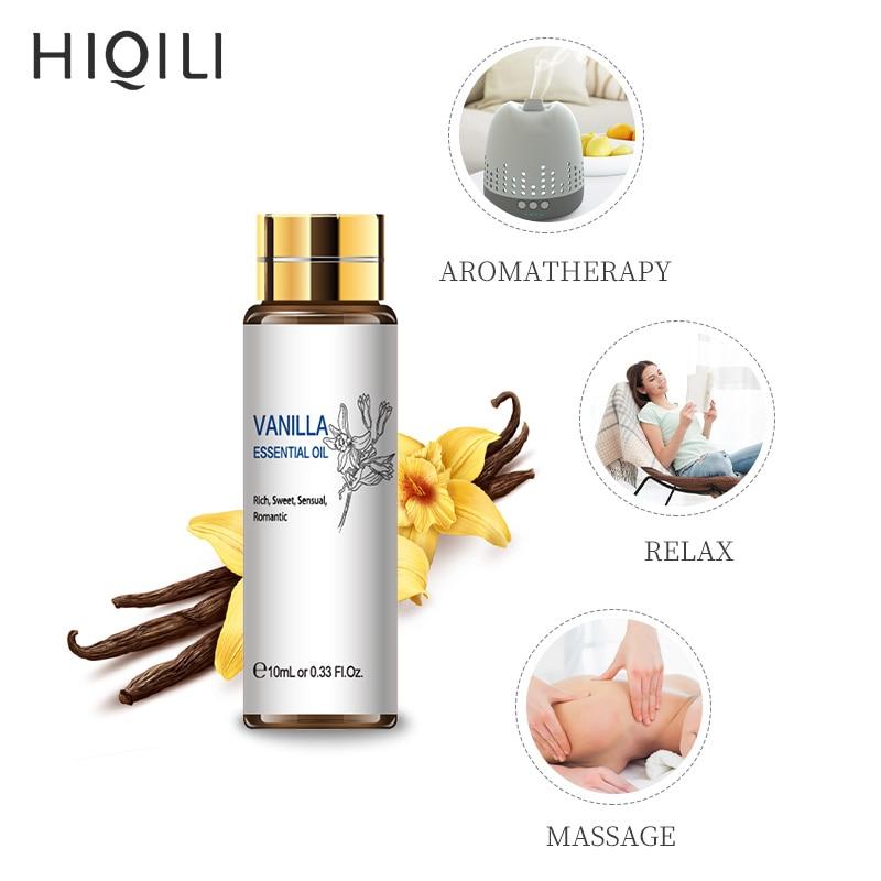 HIQILI Orange Tea Tree Essential Oils 10ML Diffuser Aroma Oil Eucalyptus Vanilla Bergamot Lemongrass Rosemary Chamomile Oil-5